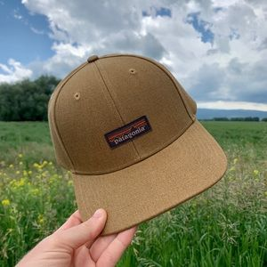 NWT Patagonia Hemp Logo Hat - Tan/Brown